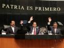 Senado recibe minutas de las leyes Federal de Derechos y de Ingresos sobre Hidrocarburos