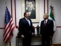 Visita México secretario de Estado de EU